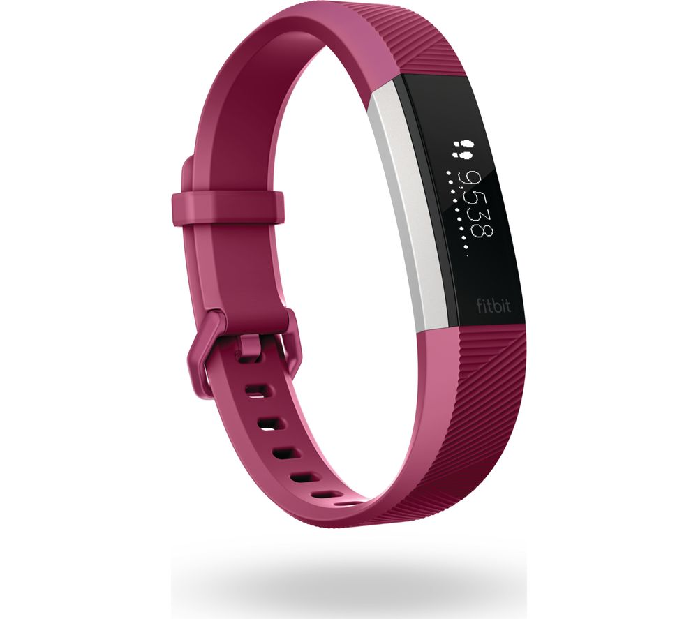 Compare prices for Fitbit Alta HR - Fuschia - Large