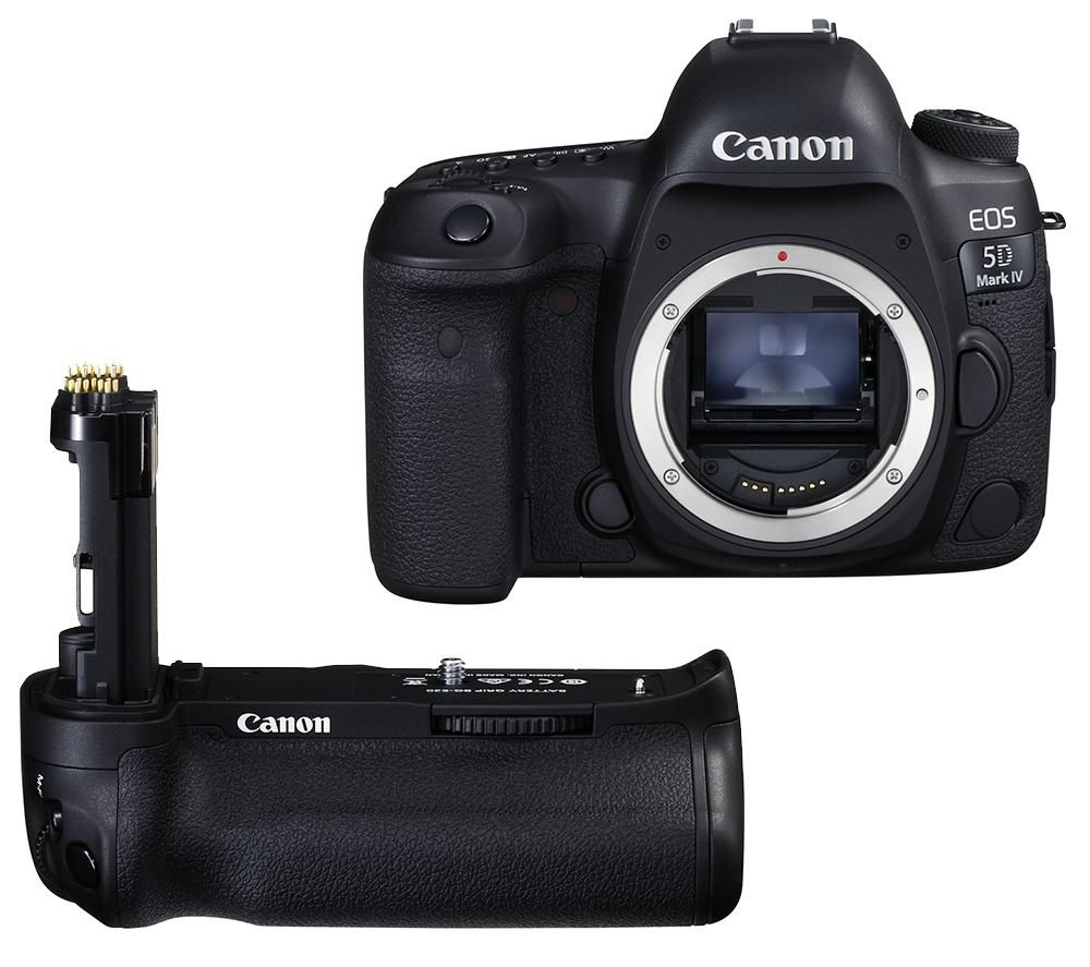 CANON EOS 5D Mark IV DSLR Camera & BG-E20 Battery Grip Bundle, Black