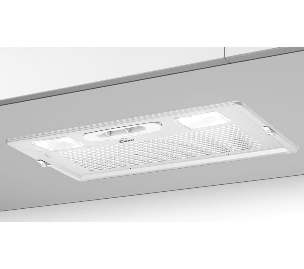 Image of CANDY CBG625W Canopy Cooker Hood - White, White