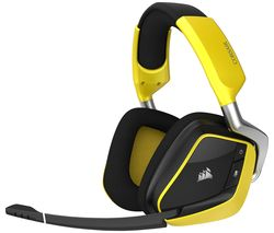 CORSAIR VOID PRO Special Edition Wireless 7.1 Gaming Headset - Yellow & Black
