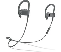 BEATS Powerbeats3 Neighbourhood Wireless Bluetooth Headphones - Asphalt Grey