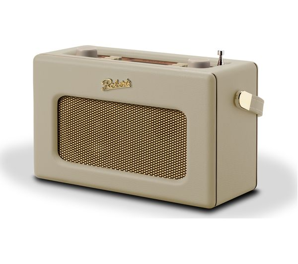 Image of ROBERTS Revival RD70 Portable DAB+/FM Retro Bluetooth Radio - Cream