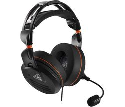 TURTLE BEACH Elite Pro Tournament 2.0 Gaming Headset - Black & Orange