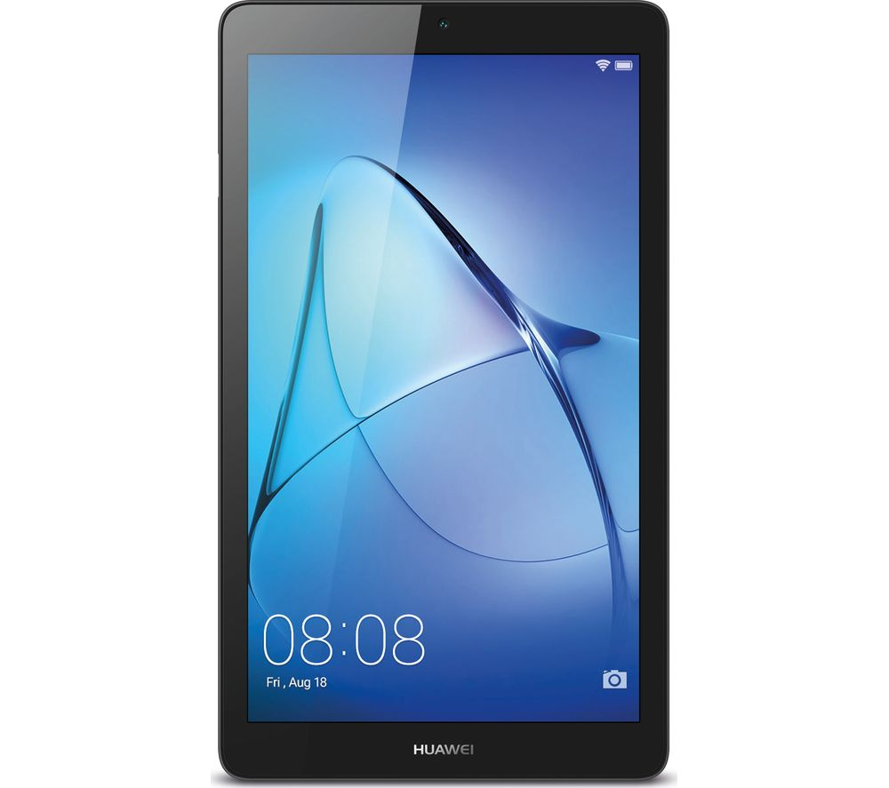 huawei mediapad t3 7 tablet 16 gb grey deals pc world. Black Bedroom Furniture Sets. Home Design Ideas