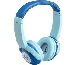 GOJI GKIDBTB18 Wireless Bluetooth Kids Headphones - Blue