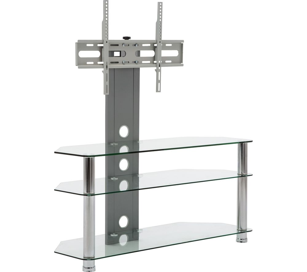 Compare prices for MMT CC60 800 mm TV Stand with Bracket - Silver
