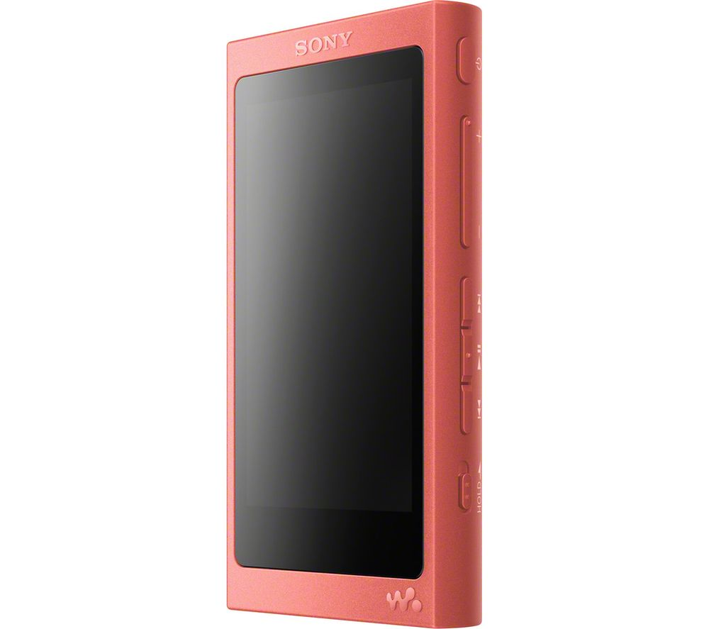 Image of SONY NW-A45 MP3 Player with FM Radio - 16 GB, Red, Red