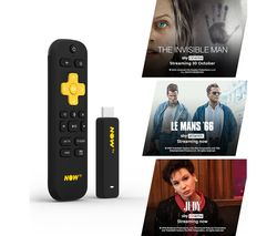 NOW TV Smart Stick with HD & Voice Search - 1 Month Cinema Pass