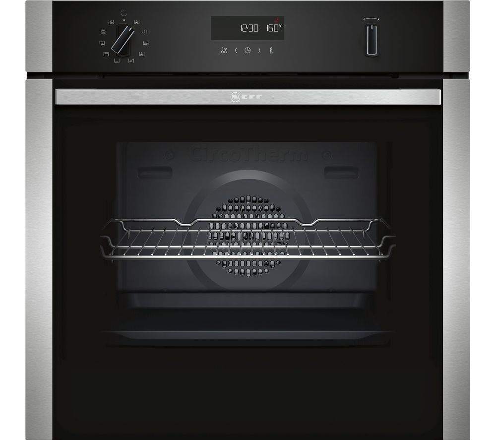 NEFF B2ACH7HN0B Electric Oven - Stainless Steel, Stainless Steel