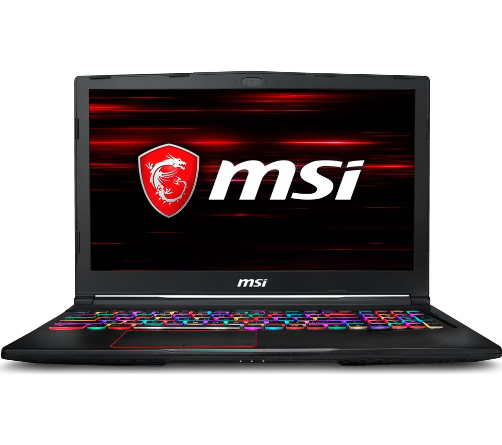 "Image of MSI Raider RGB GE63 15.6"" Intel® Core™ i7 GTX 1070 Gaming Laptop - 1 TB HDD & 256 GB SSD"