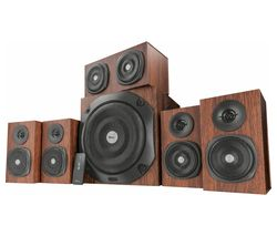 TRUST Vigor 5.1 PC Speakers - Brown