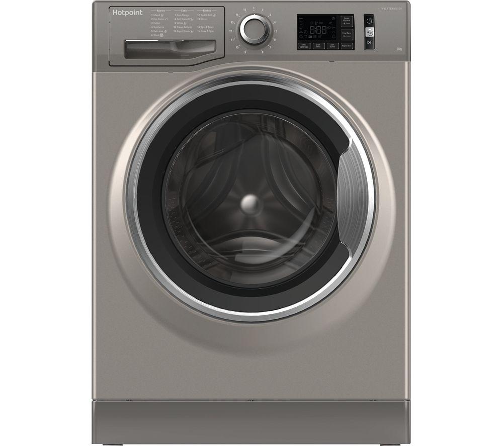 HOTPOINT ActiveCare NM11 946 GC A UK 9 kg 1400 Spin Speed Washing Machine - Graphite