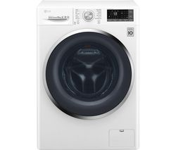 LG FH4U2JCN2 Smart 10 kg 1400 Spin Washing Machine - White