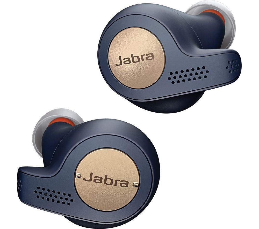 JABRA Elite Active 65t Wireless Bluetooth Headphones - Copper Blue