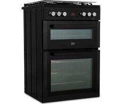 BEKO XDDF655T 60 cm Dual Fuel Cooker - Anthracite