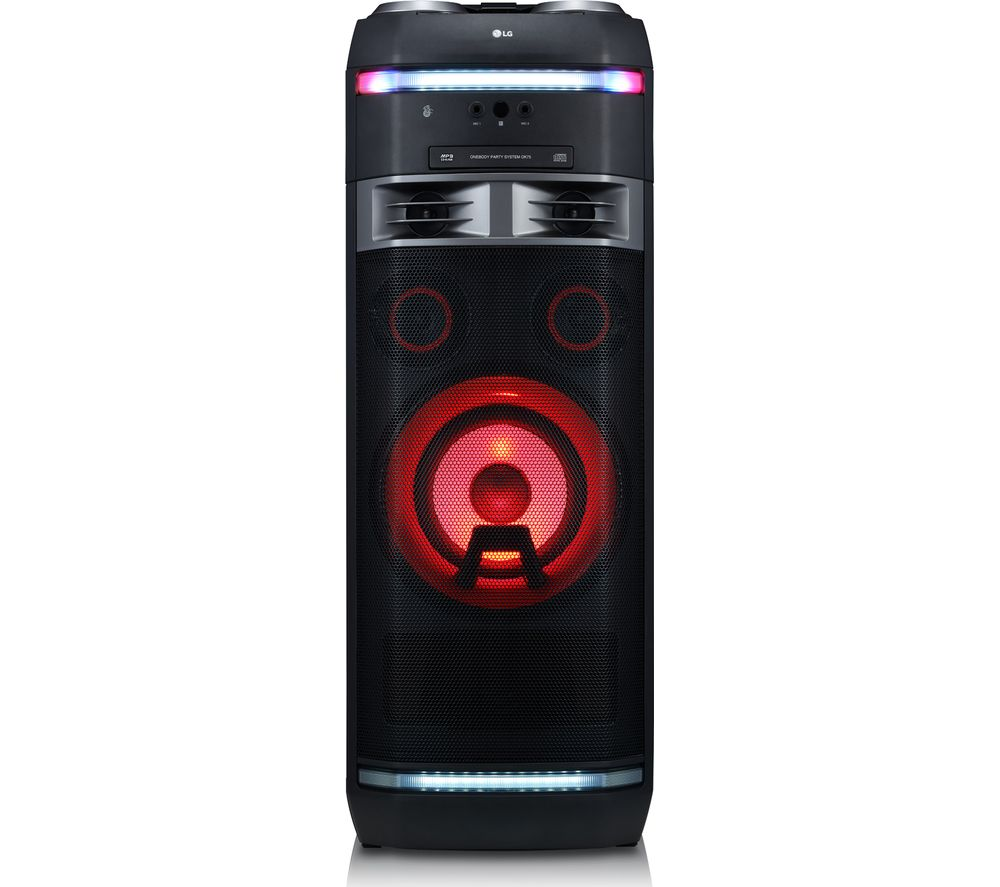 LG OK75 XBOOM Bluetooth Megasound Party Hi-Fi System - Black