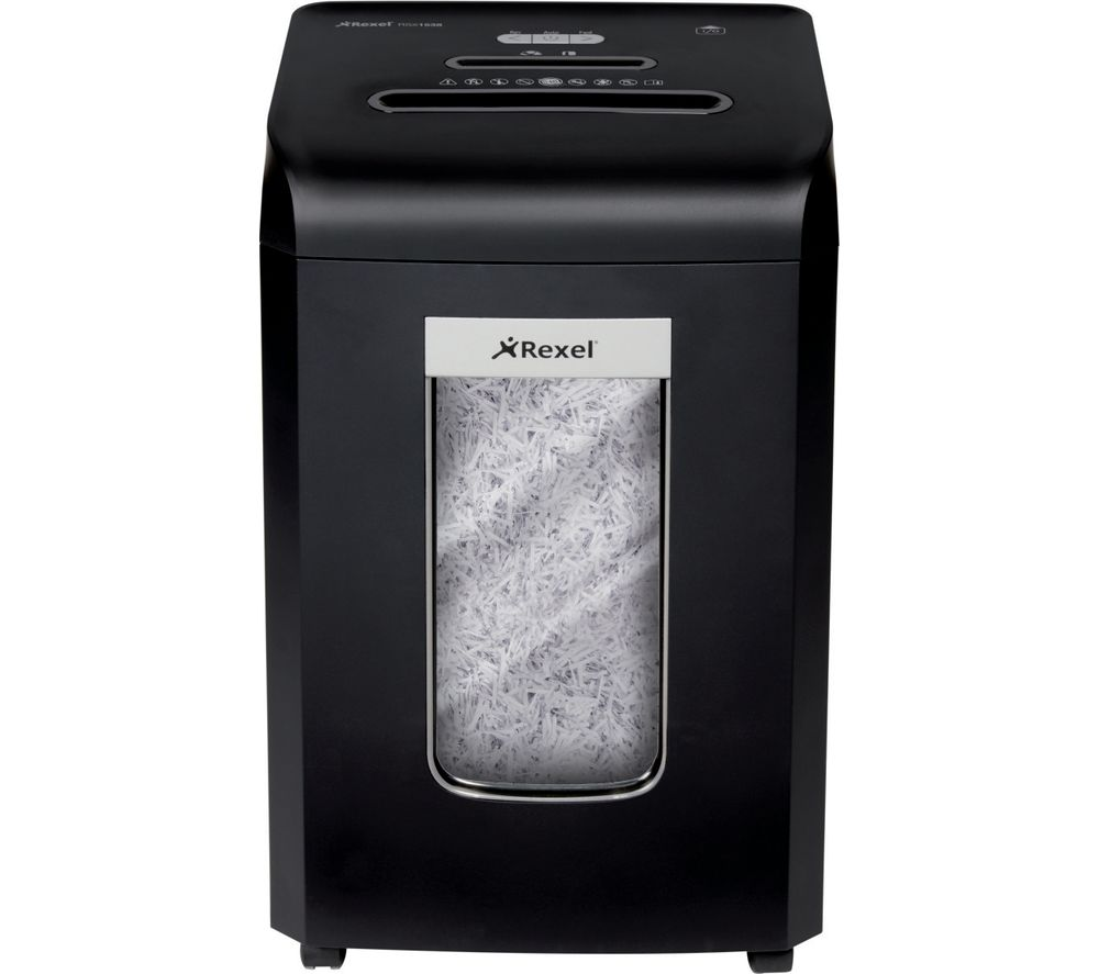 REXEL Promax RSX1538 Cross Cut Paper Shredder