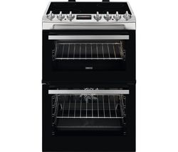 ZANUSSI ZCV69068XE 60 cm Electric Ceramic Cooker - Stainless Steel Best Price, Cheapest Prices