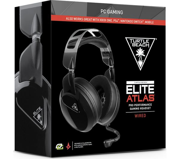 e5208373ffc Buy TURTLE BEACH Elite Atlas Gaming Headset - Black | Free Delivery ...