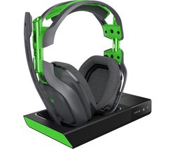 ASTRO A50 Wireless 7.1 Gaming Headset & Base Station - Grey & Green
