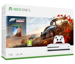 MICROSOFT Xbox One S with Forza Horizon 4