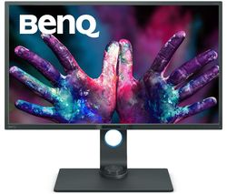 "BENQ PD3200U 4K Ultra HD 32"" LED Monitor - Dark Grey"