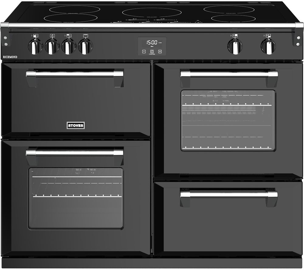 STOVES Richmond S1100Ei 110 cm Electric Induction Range Cooker - Black
