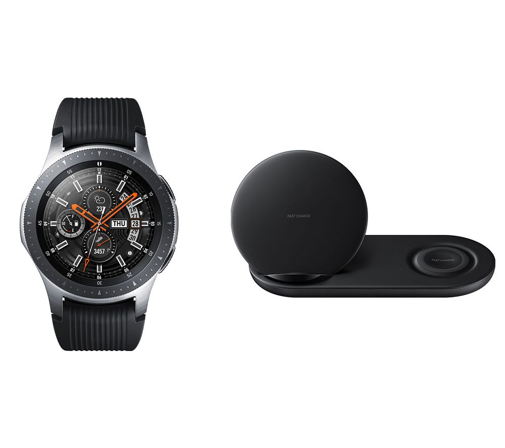SAMSUNG Galaxy Watch & Duo Qi Wireless Charging Pad Bundle