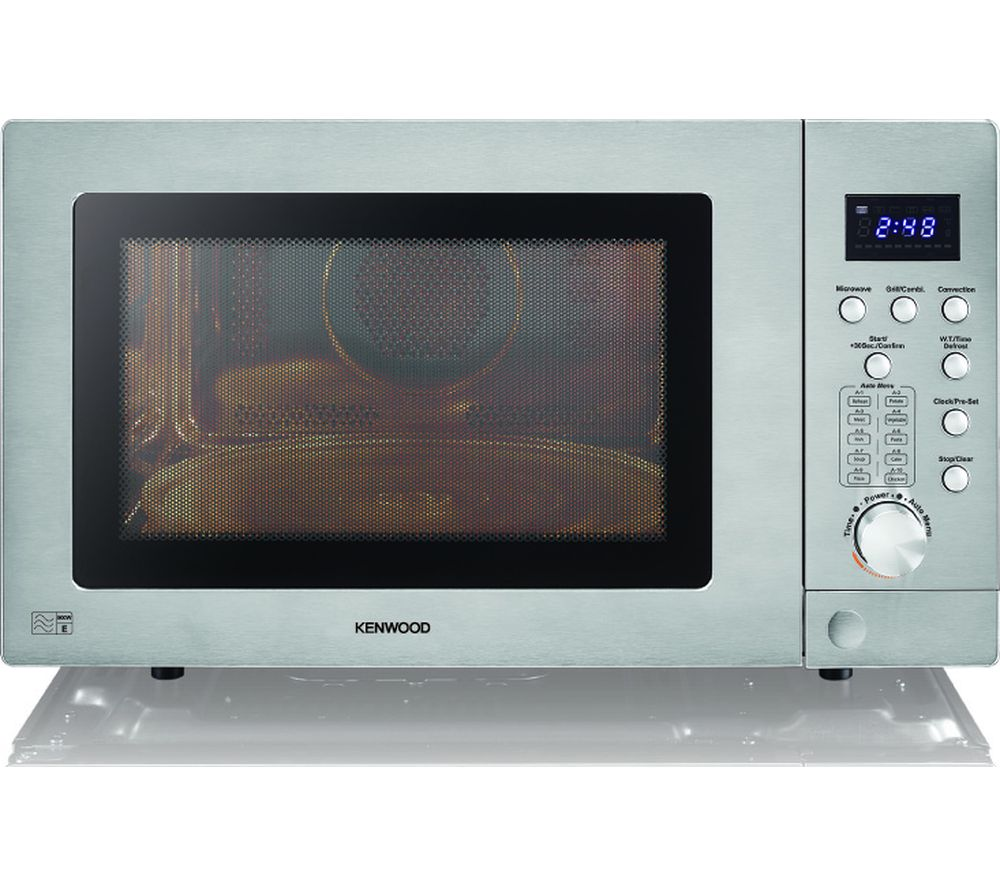 K25css19 Combination Microwave Silver