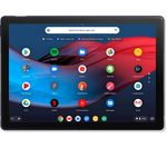 £749, GOOGLE Pixel Slate 12.3inch Intel® Core™ m3 2 in 1 Chromebook - 64 GB eMMC, Blue, Chrome OS, Intel® Core™ m3-8100Y Processor, RAM: 8GB / Storage: 64GB eMMC, Quad HD display, Battery life:Up to 12 hours,