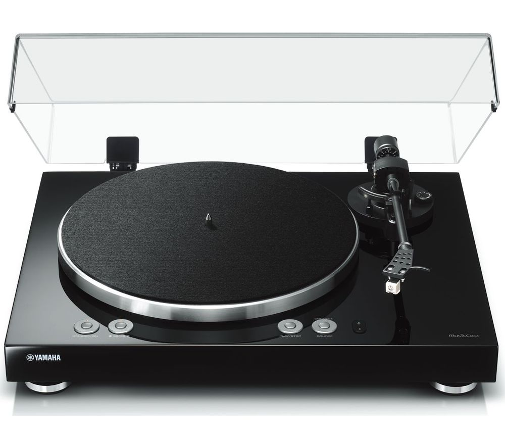 YAMAHA MusicCast Vinyl 500 Belt Drive WiFi Turntable - Black