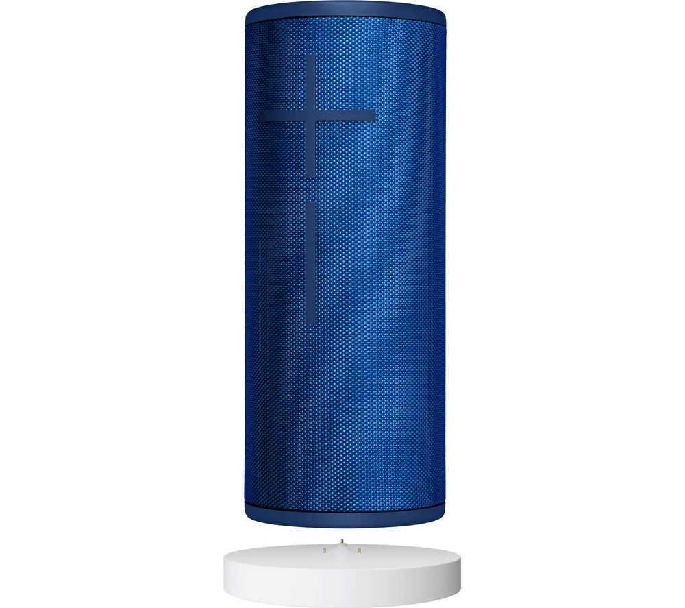 ULTIMATE EARS BOOM 3 Portable Bluetooth Speaker & Power Up Charging Dock - Blue, Blue