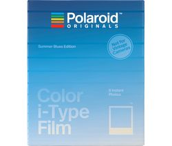 POLAROID Summer Blue Edition i-Type Colour Film - Pack of 8
