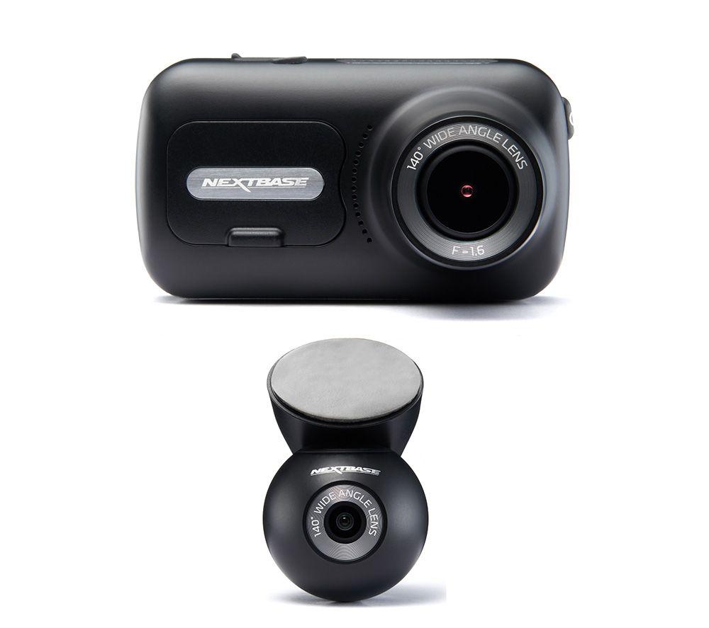 NEXTBASE 322GW Full HD Dash Cam & Rear Window Dash Cam Bundle