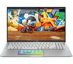 £699, ASUS VivoBook 15 S532 15.6inch Laptop - Intel® Core™ i5, 512 GB SSD, Silver, Achieve: Fast computing with the latest tech, Intel® Core™ i5-8265U Processor, Memory: 8GB RAM / 32GB Intel® Optane™, Storage: 512GB SSD, Full HD display,