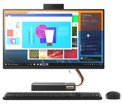 "LENOVO IdeaCentre A540-24ICB 23.8"" Intel® Core™ i5 All-in-One PC - 1 TB HDD & 128 GB SSD, Black"