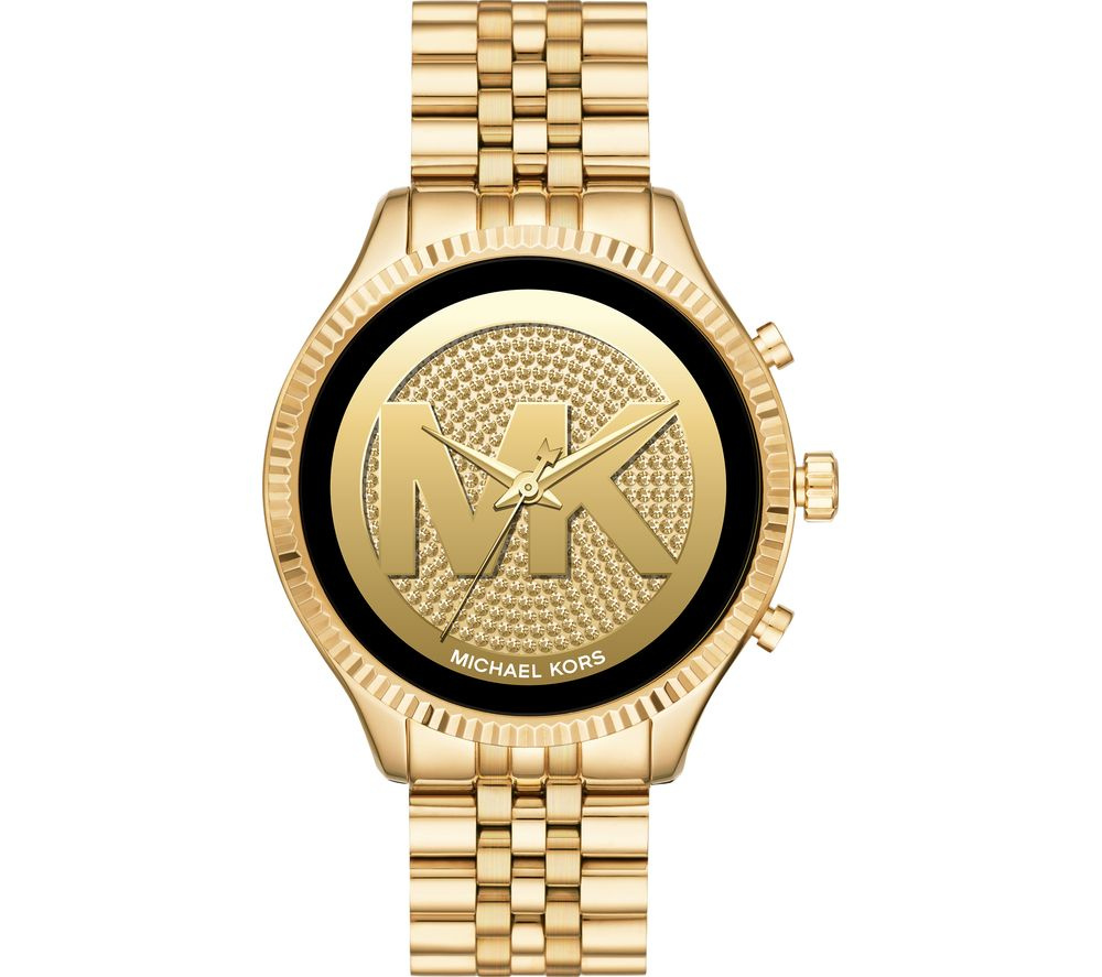 Image of MICHAEL KORS Access Lexington 2 MKT5078 Smartwatch - Gold, Gold