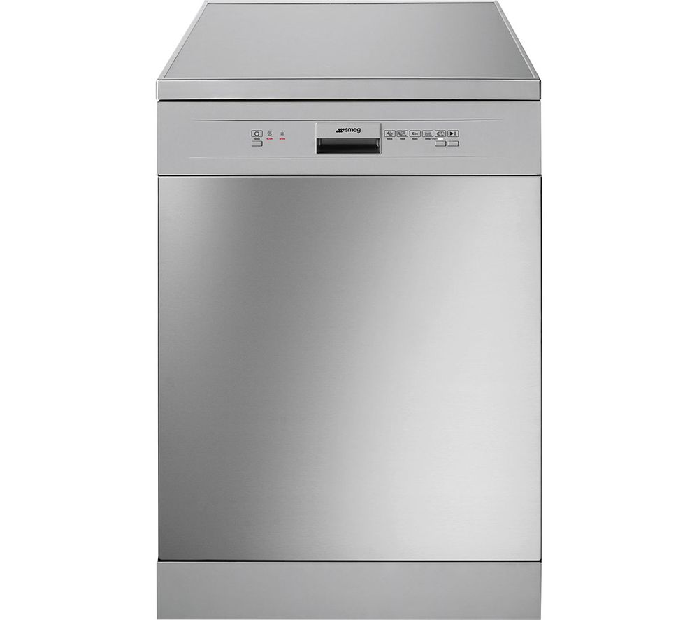 DFD13E2X Full-size Dishwasher - Stainless Steel & Silver, Stainless Steel