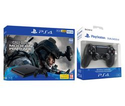 SONY PlayStation 4 with Call of Duty: Modern Warfare & DualShock 4 V2 Wireless Controller Bundle
