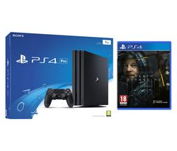 SONY PlayStation 4 Pro & Death Stranding Bundle - Black