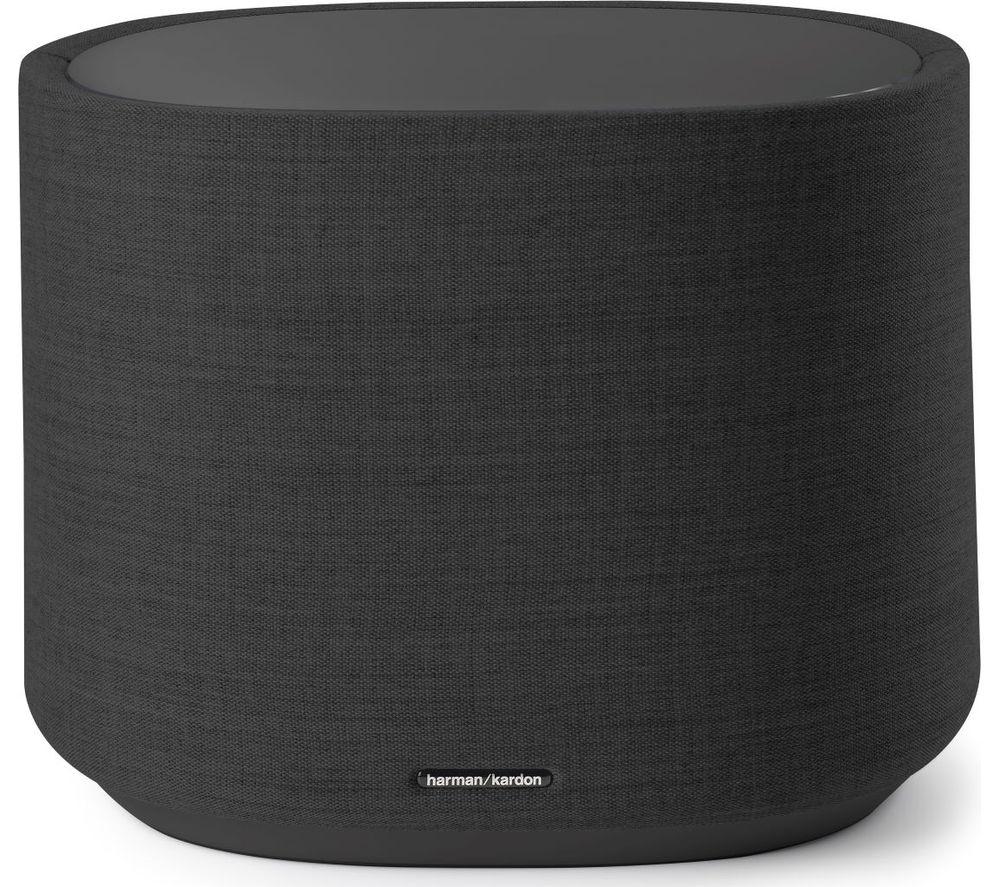 Image of HARMAN KARDON Citation SUB Multi-room Speaker with Google Assistant - Black, Black