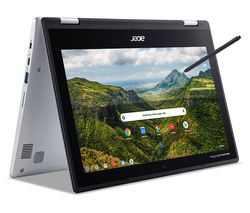 "ACER Spin 311 11.6"" 2 in 1 Chromebook - Intel® Celeron® N4000, 64 GB eMMC, Silver"