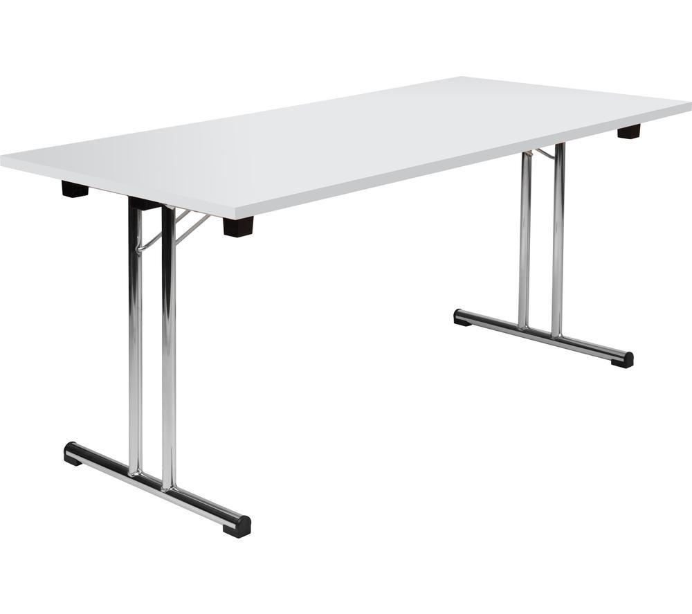 TEKNIK Space Folding Table - White