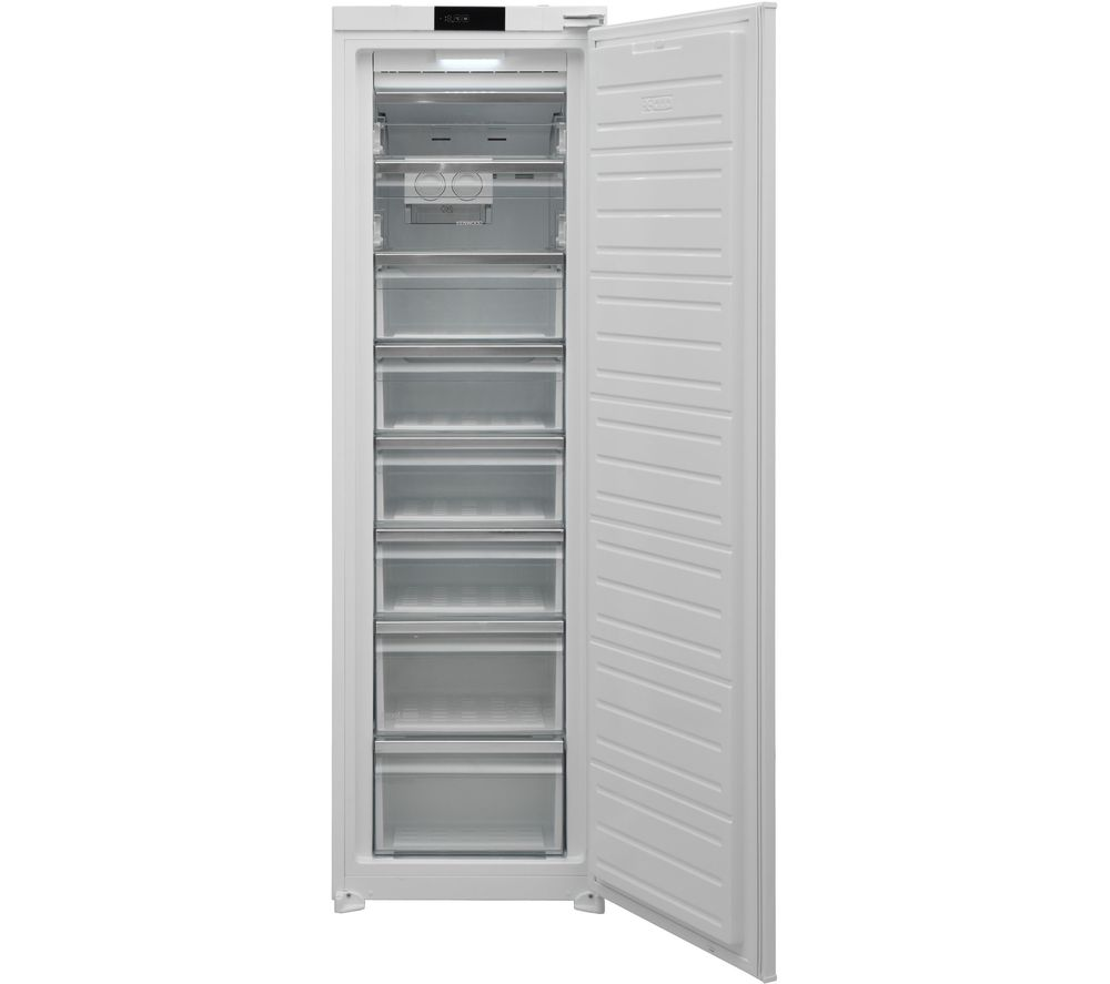 KENWOOD KITF54W20 Integrated Tall Freezer - Sliding Hinge