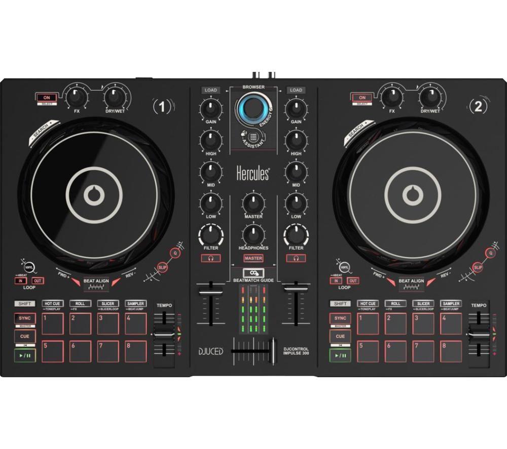 HERCULES DJControl Inpulse 300 - Black
