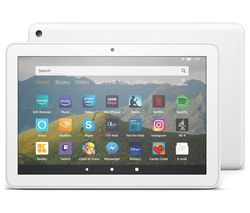 Fire HD 8 Tablet (2020) - 32 GB, White