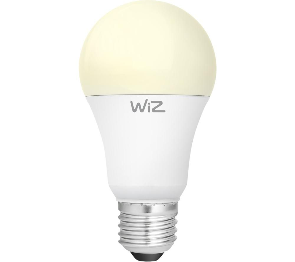 WIZ CONNEC Whites Dimmable Smart LED Light Bulb - E27, Warm White
