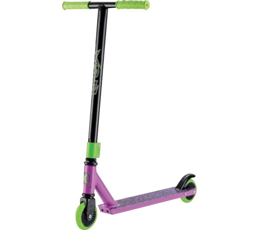 XOOTZ Toxic TY5764 Stunt Scooter - Purple & Green