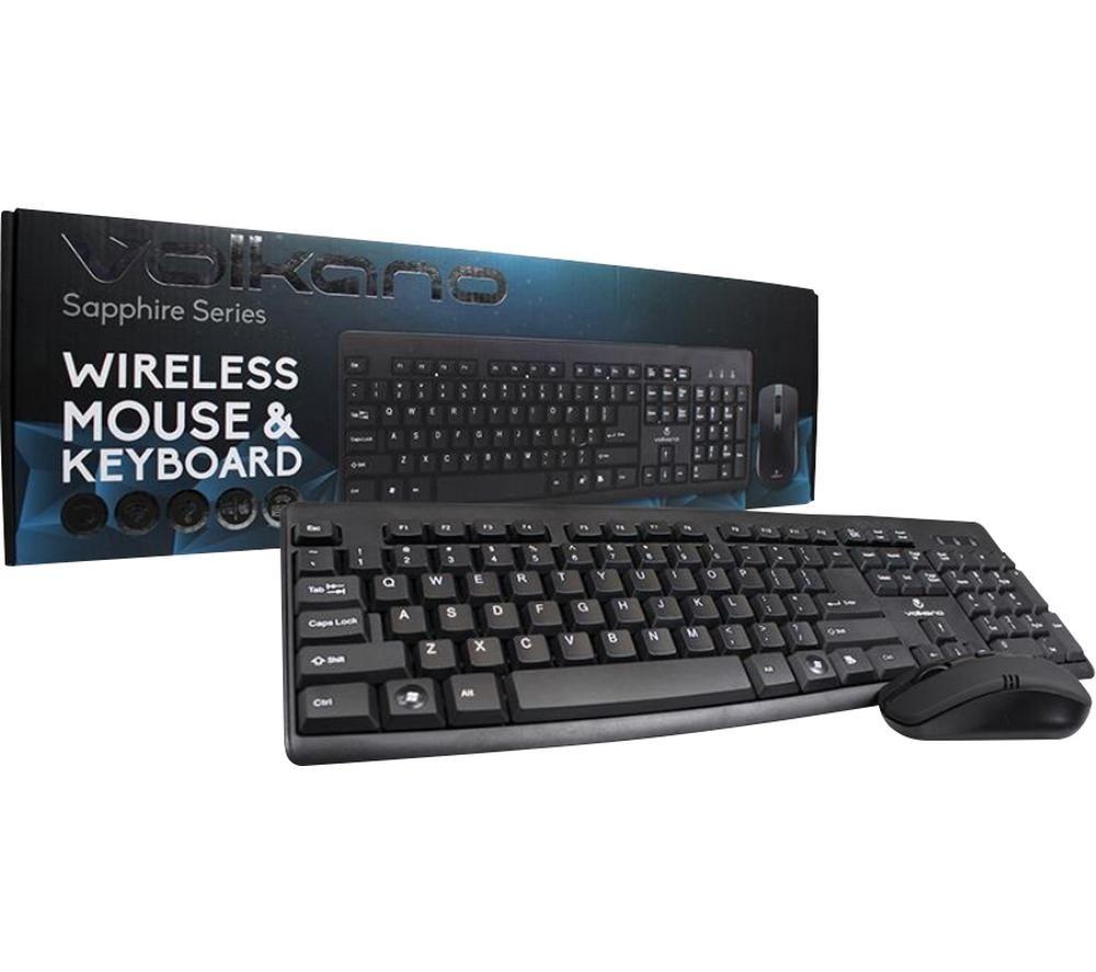 VOLKANO Sapphire Series Keyboard & Mouse Set