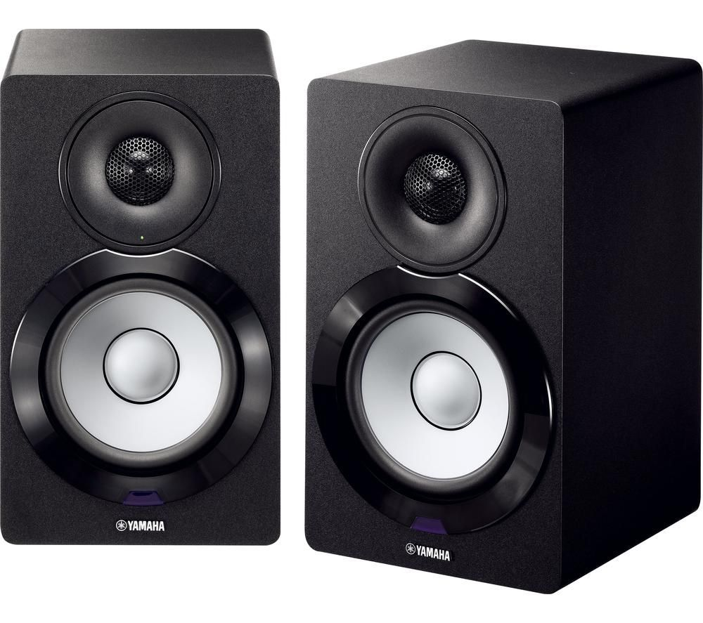 YAMAHA MusicCast NX-500 2.0 Bluetooth Monitor Speakers - Black